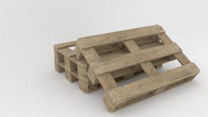 EURO palety drewniana