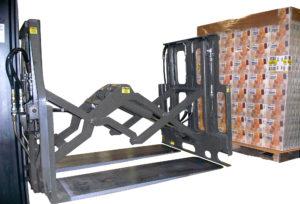 Używanie arkuszy transportowych za pomocą nakładek Push Pull